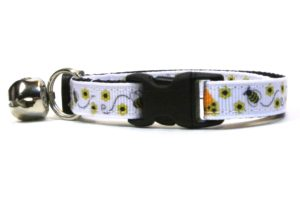 Bumblebees Breakaway Cat Collar by Swanky Kitty – clip