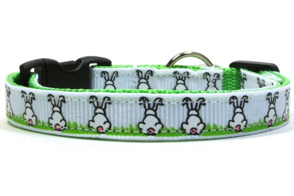 The Cottontail Breakaway Cat Collar by Swanky Kitty