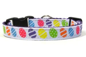Easter Egg Breakaway Cat Collar by Swanky Kitty