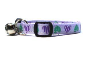 Purple Sweethearts Breakaway Cat Collar by Swanky Kitty – sidw