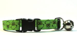 Christmas Grinch Breakaway Cat Collar by Swanky Kitty – clip