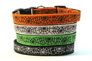 Spiderwebs Breakaway Cat Collar by Swanky Kitty