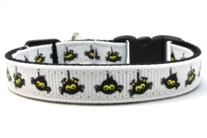 The Itsy Bitsy Spider Breakaway Cat Collar by Swanky Kitty