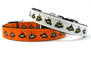 The Itsy Bitsy Spider Breakaway Cat Collar by Swanky Kitty – both