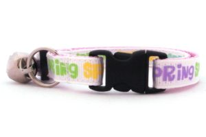 The Spring Breakaway Cat Collar by Swanky Kitty – clip