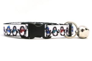 Penguin Breakaway Cat Collar by Swanky Kitty