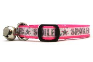 Pink Spoiled Breakaway Cat Collar by Swanky Kitty