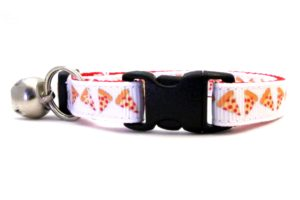 The Pizza Pie Breakaway Cat Collar by Swanky Kitty – clip