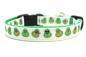 Avocado Breakaway Cat Collar by Swanky Kitty