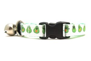 Avocado Breakaway Cat Collar by Swanky Kitty – clip