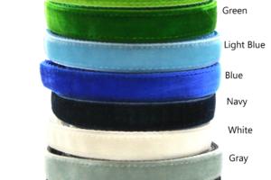 Colors 2 Velvet Breakaway Cat Collar by Swanky Kitty – Copy
